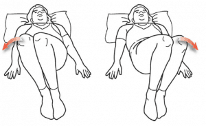 15. Lumbar rotation sciatica