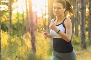 16. Jogging aerobic