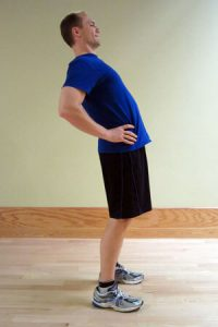 16. Standing back extension