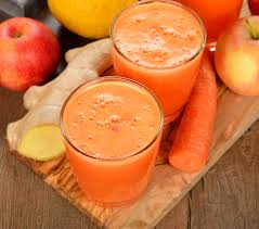 3. carrot ginger juice