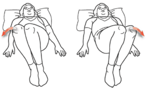 8. Lumbar rotation sciatica