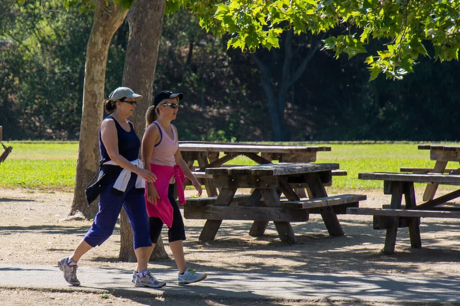 4. walking in park boost metabolism