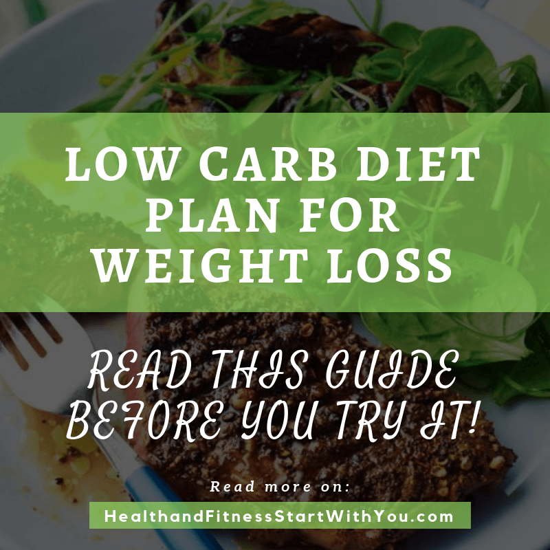 Low Carb Diet Plan For Weight Loss – Read This Guide Before You Try It!